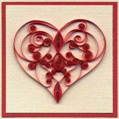 heart crafts for adults - #valentines #papercraft #heart