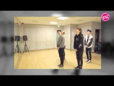 NU'PAPA released a video of NU'EST having a fun time in their practice room as they're practicing the choreography for the song Introduce Me To Your Noona.