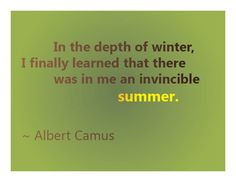 Wonderful #quote about strength by Albert Camus #quotes #wisewords #quoteoftheday #goodkarmal