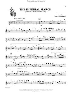 Flute Sheet Music: The Imperial March (Darth Vader's Theme)