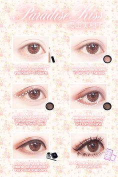 """ichigoflavor: """"I participated in a makeup competition in Uniqso ~! Please support . - ichigoflavor: """"I participated in a makeup competition in Uniqso ~! Please support … ichigoflavor: """"I participated in a makeup competition in Uniqso ~! Please support … Anime Eye Makeup, Lolita Makeup, Gyaru Makeup, Ulzzang Makeup, Makeup Art, Pastel Goth Makeup, Kawaii Makeup Tutorial, Cosplay Makeup Tutorial, Make Up Tutorial Contouring"""