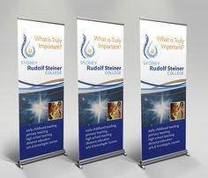 Sydney Rudolf Steiner College Pull Up Banner design by Webology Sydney