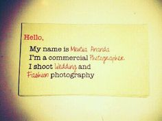 business card 911. introduction.