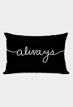 The white backround is the negative which is unused. However the black pillow is the positive because it's the element that takes up space. The element of design is space. Black Pillows, Cute Pillows, Diy Pillows, Decorative Pillows, Dream Bedroom, Girls Bedroom, Bedroom Decor, Bedroom Ideas, Pillow Fight