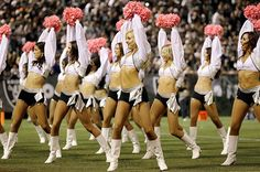Oakland #Raiders cheerleaders #raiderettes