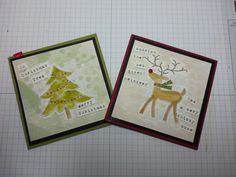 Beth's Paper Cuts Christmas Projects, Paper Cutting, Reindeer, Stampin Up, Card Making, Merry, Paper Crafts, Scrapbook, Watercolor