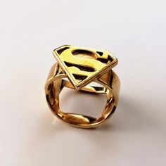 rogeriodemetrio.com: Superman Ring - Silver, Gold