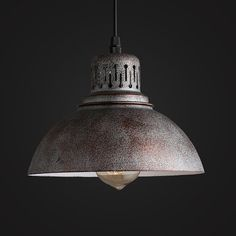Old Warehouse Pendant lamp - industrial lighting - vintage hanging lamps - ceiling lamps - edison bulbs - factory light - E27 - steel