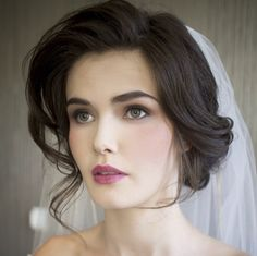 28 Classy Wedding Hairstyle Inspiration - MODwedding Loveee the make up!