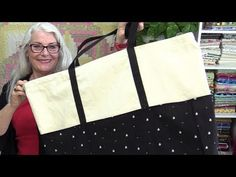 SewVeryEasy Tutorial: Make an XL Tote Bag.
