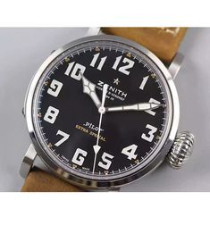 Zenith Pilot Type 20 GMT SS/LE 45mm Best Edition Black Dial