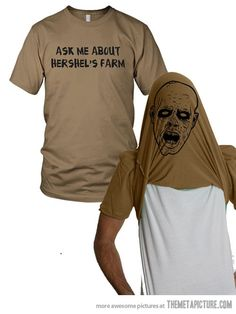 Ask me about my shirt…