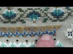 05 Peacock Sampler  - Lazy Daisy Flowers - YouTube