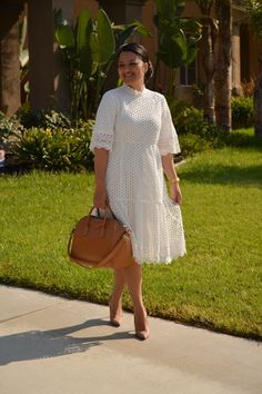 Bristol Dress Modest fashion for women. White lace dress, available now, S-XL. Modest Dresses, Modest Outfits, Dress Outfits, Casual Dresses, Summer Dresses, Modest Clothing, Modest Lace Dress, White Dress Outfit, Lace Dresses