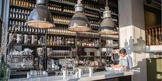 Home - Bistro Velvet Netherlands, Brunch, Ceiling Lights, Places, Restaurants, Velvet, Drinks, Home Decor, Tips