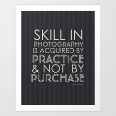 Skill Photographer humor Art Print by Visions2images - $33.28