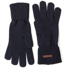 Tommy Hilfiger Classic Knit Gloves ($50) ❤ liked on Polyvore featuring accessories, gloves, knit gloves and tommy hilfiger