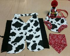 boy cowboy cake smash outfit, cowboy birthday outfit, bandana, cow print chaps, diaper cover, hat, western birthday, cowboy first birthday by SMPstore on Etsy https://www.etsy.com/listing/262399386/boy-cowboy-cake-smash-outfit-cowboy