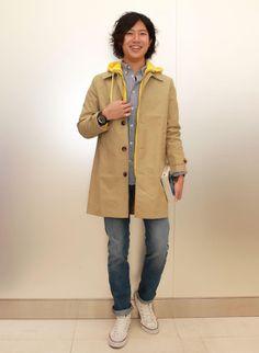 Beige Coat, Raincoat, Jackets, Fashion, Beige Trench Coat, Rain Jacket, Down Jackets, Moda, Fashion Styles