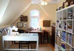Leigh Laurel Studios - crafts room