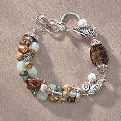 Donya's Lavish Bracelet in Holiday 2012 from Uno Alla Volta