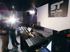 Sonar Traffic at the Dancefair