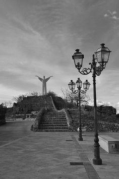 Statua del Cristo Redentore, Maratea, Potenza, Italia