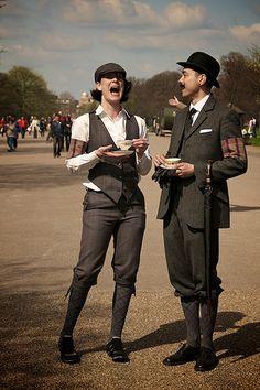 Tweed Run » The Tweed Run London – A metropolitan bicycle ride with a bit of style.