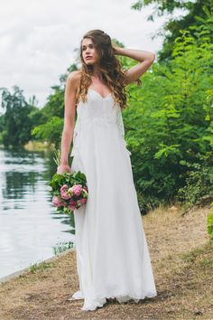 Les robes de mariée d'Adeline Bauwin - Collection 2016 | Modèle: La Charmeuse | Crédits: Cécile B.Photographies | Donne-moi ta main - Blog mariage