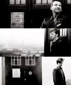 Image via We Heart It https://weheartit.com/entry/125850044/via/13802995 #davidtennant #doctorwho #eleven #fantastic #nine #tardis #ten #mattsmith #christophereccleston #allons-y #10thdoctor #11thdoctor #9thdoctor #gerenimo