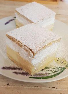 Ha valami édeset enne a család, mi más készülhet, mint a felhő krémes - Egyszerű Gyors Receptek Vanilla Cake, Sweet Tooth, Cheesecake, Food And Drink, Mint, Sweets, Cooking, Basket, Cute Baking