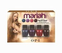 in love <3 OPI lakier do paznokci - MARIAH CAREY COLLECTION 2013 - 4x Mini Pack 3,75 ml