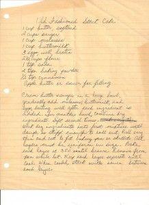 Appalachian Old Fashioned Stack Cake Recipe