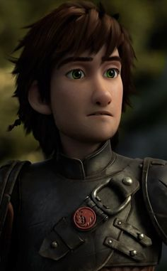 Hiccup. Dang it, I never think guys are that hot, let alone animated, fictional guys! But seriously, look at him! *swoon*