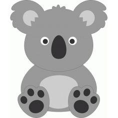 Silhouette Design Store - View Design #53665: cute koala