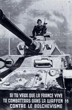 1943 07 Affiche Si Tu Veux Que La France Vive Tracts Et Affiches 1939-1945