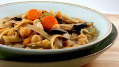 Chickpea-Noodle-Soup