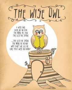 Words To Live By: Owl Wisdom Quotes