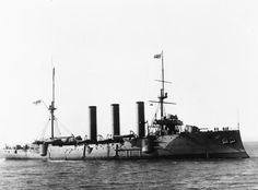 HMS Berwick, Monmouth-class armoured cruiser, assigned to the 2nd Cruiser Squadron of the Channel Fleet upon completion in 1903 and was transferred to the Home Fleet in 1906. She accidentally rammed and sank a British destroyer in 1908. She captured a German merchant ship shortly after World War I began and patrolled for German commerce raiders and escorted convoys during war.