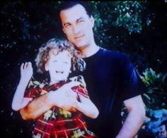 Steven Seagal and daughter, Annaliza