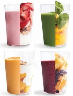 Smoothies... I'm a sucker for a great smoothie... Power breakfast or amazing mid day treat...
