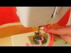 Как научиться машинной вышивке