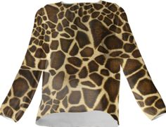 Little Giraffe Silk Top - Available Here: http://printallover.me/collections/sondersky/products/0000000p-little-giraffe-11