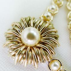 Friday glam... A little #bridal #bling #Swarovski #pearls and #goldwork…