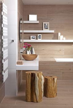 Jaké jsou nejnovější trendy v obkladech i dlažbách? Bathroom Layout, Home Renovation, Floating Shelves, Sweet Home, Bathtub, Relax, Interior Design, House, Inspiration