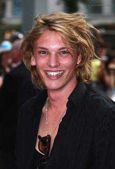 Jamie Campbell Bower. The soon to be Jace. (Mortal Instruments Series by Cassandra Clare coming in theaters August)
