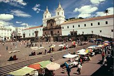 One of many beautiful sites in Ecuador.