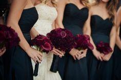 burgandy and navy blue wedding - Google Search