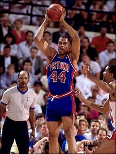 "Rick Mahorn... tough, tough, tough. Did a lot of the ""dirty"" work. Lol"