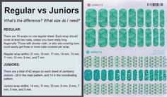 You won't be disappointed with Jamberry Nail Wraps! Safe, non-toxic and mess free! Did I mention no dry time? Visit my website to see the over 300+ designs available! http://jennyfabrizio.jamberrynails.net/